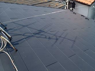 金属屋根材での補修