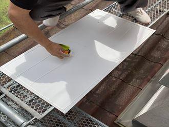 ケイカル板の加工