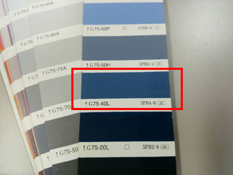 外壁塗装 日本塗料工業会 日塗工 水色の外壁 ブルーの外壁 75-40l