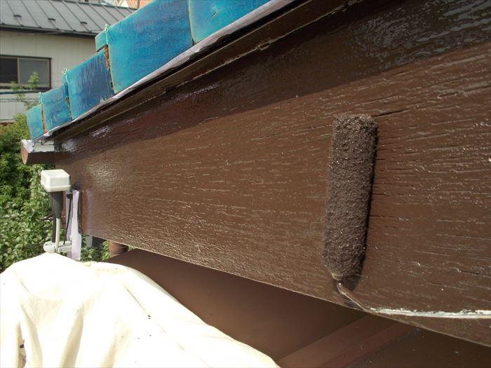 破風板塗装工事