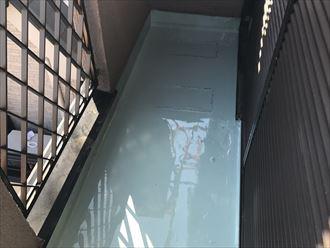 ウレタン防水2層完了