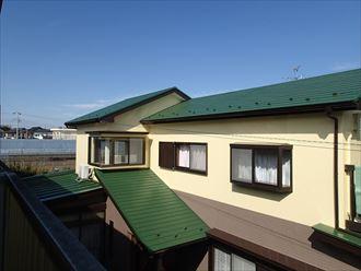 鎌ヶ谷市でお客様の希望に叶ったカラーシミュレーションで屋根外壁塗装、屋根は遮熱塗料ワイドシリコン遮熱α、外壁はハイブリッド塗料のパーフェクトトップで仕上げました