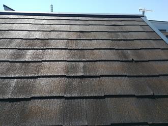 屋根 塗膜の劣化