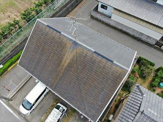 君津市北子安で、パーフェクトシリーズを使用し既存の色に合わせた屋根・外壁塗装工事
