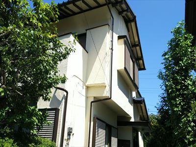 酒々井町|2回目の外壁塗装ナノコンポジットNC-06と付帯部は塗り分けでアクセントに!