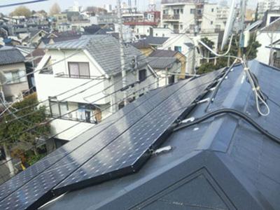 東京都中野区の施工事例 屋根塗装