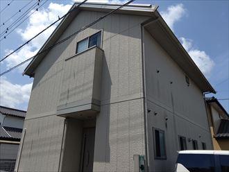 君津市 屋根・外壁塗装工事前