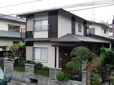 横浜市瀬谷区|カラーシミュレーションで外壁塗装の色選びと屋根カバー工法