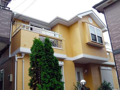 横浜市保土ヶ谷区で外壁リフォーム 外壁塗装・屋根塗装 台風で棟板金剥がれ