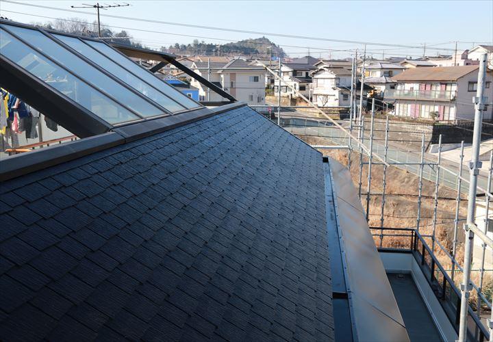 木更津市 屋根塗装完了