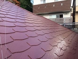 屋根塗装が完了