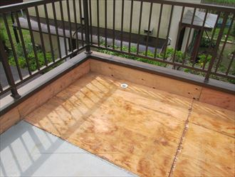 大網白里市 床材の張替え後