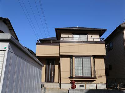 袖ケ浦市で現状回復|サーモアイSiとナノコンポジットWで屋根外壁塗装工事