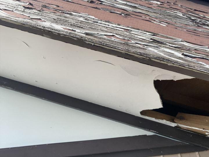 軒天の破損