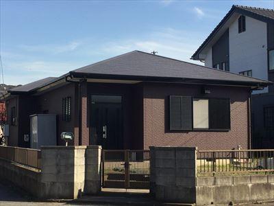 富津市|お隣様のご紹介!サーモアイSiとナノコンポジットWで屋根外壁塗装