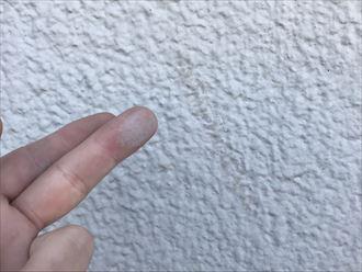富津市大堀で外壁タイルにひびが入ってしまった、心配なので調査希望