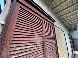 戸襖の劣化