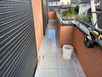 袖ケ浦市 床への防水