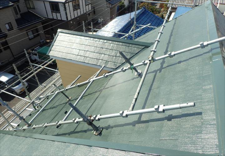 浦安市堀江 屋根塗装完了