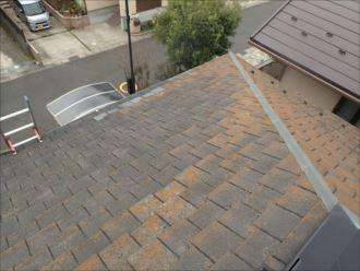 木更津市請西の屋根調査、築15年初めての屋根へのメンテナンス