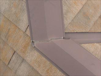 船橋市海神 板金の塗膜の劣化