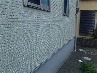 佐倉市 北側の外壁の状態