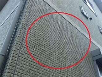 佐倉市大崎台の初めての外壁塗装工事をご検討、苔の発生を抑制する超低汚染塗料をご提案