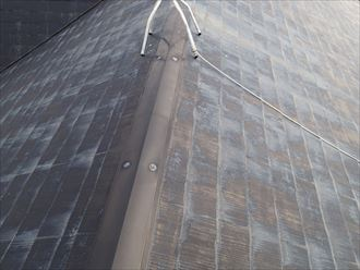 袖ケ浦市百目木の築25年が経過した化粧スレート、屋根塗装工事のご提案