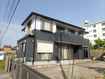 市原市|遮熱サーモアイSiと弾性塗料エラストコートで屋根外壁塗装でイメージチェンジ
