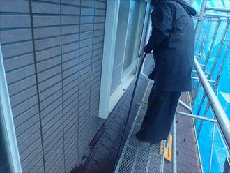 千葉市稲毛区 外壁洗浄