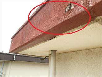 木更津市畑沢のモルタル外壁調査、外壁の剥がれやチョーキングが発生