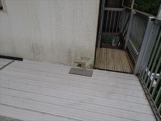 富津市萩生に外壁の腐食や苔の発生、外壁の補修と外壁塗装工事のご提案