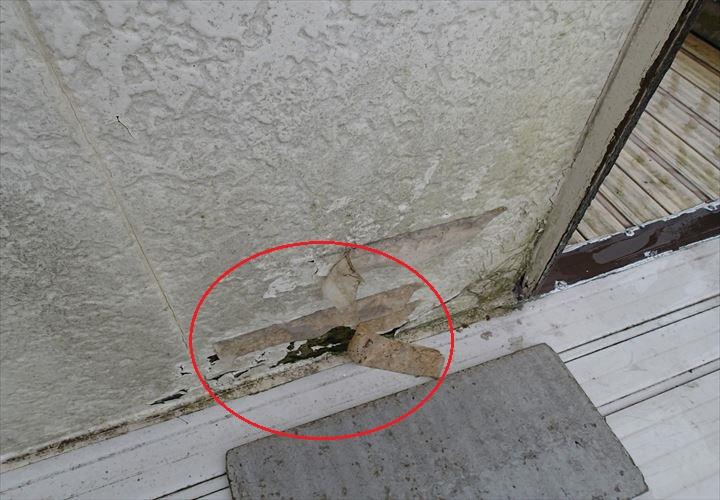 富津市 外壁の腐食