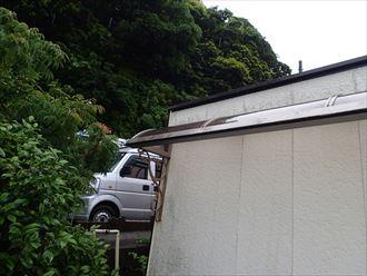 富津市 外壁の状況