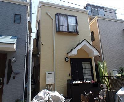 葛飾区|サーモアイ4Fとパーフェクトトップ(中間色)で屋根外壁塗装工事!