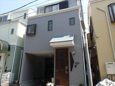 屋根外壁塗装工事完工