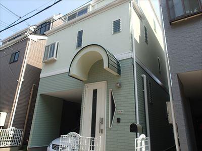 葛飾区|サーモアイ4Fとエラストコートの超高耐久屋根外壁塗装工事