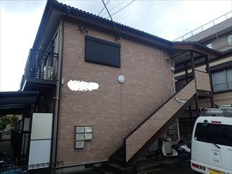 千葉市稲毛区 外壁塗装工事前