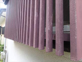富里市 木部の傷み