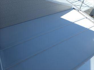 木更津市 金属屋根塗装完了