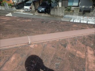 木更津市 汚れによる黒ずみ