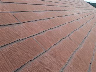 千葉市若葉区加曽利町に築25年が経過したコロニアルの屋根調査