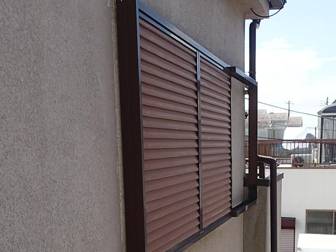 モルタル外壁のシーリング箇所