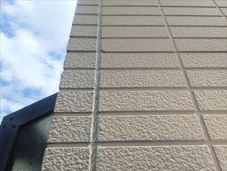 市原市光風台の築15年が経ち、外壁の色褪せやコーキングのひび割れが発生初めての外壁塗装工事