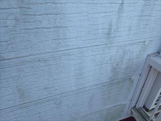 袖ケ浦市蔵波台の苔の繁殖を抑えるナノコンポジットwを使用しての外壁塗装工事のご提案