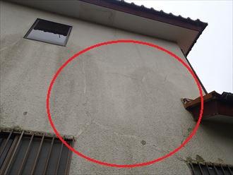 四街道市 外壁の状況