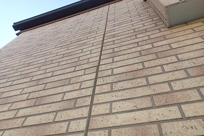 タイル調のサイディング外壁