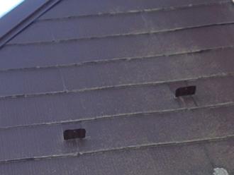 スレートの塗膜劣化