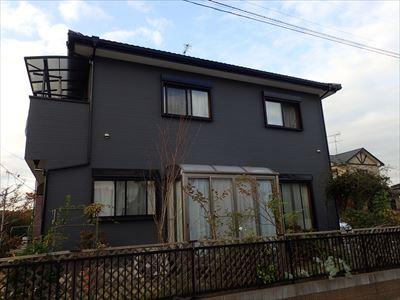 市原市|3年前に屋根補修を行った住宅で低汚染塗料ナノコンポジットWでの外壁塗装です!