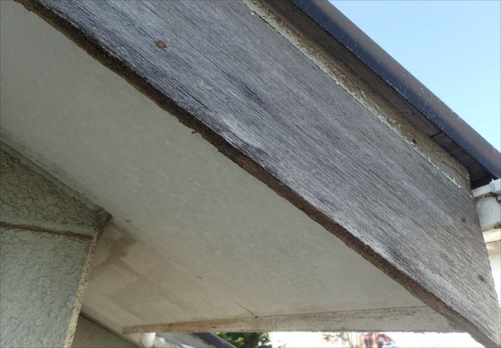千葉市若葉区小倉台 付帯部の塗料の剥がれ